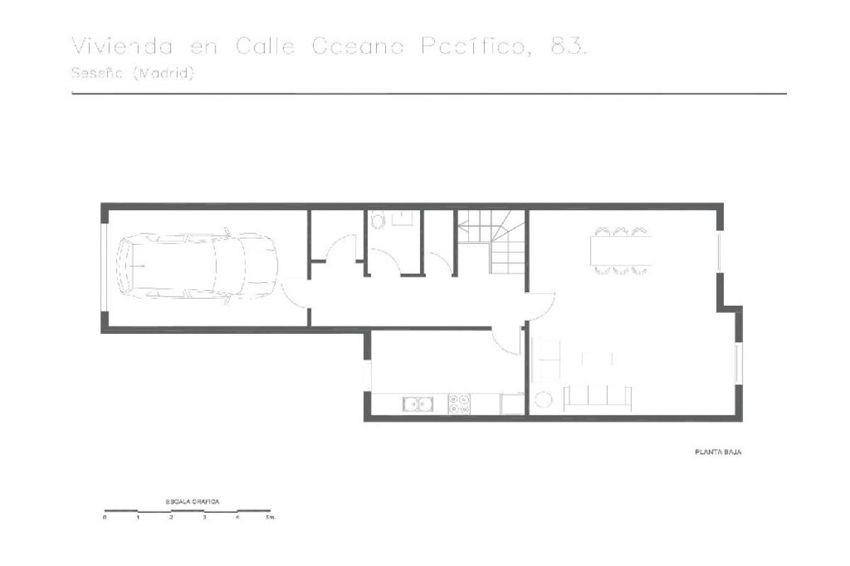 Casa en venta en Seseña, españa, Calle Oceano Pacifico, 145.500 €, 4 habitaciones, 3 baños, 207 m2