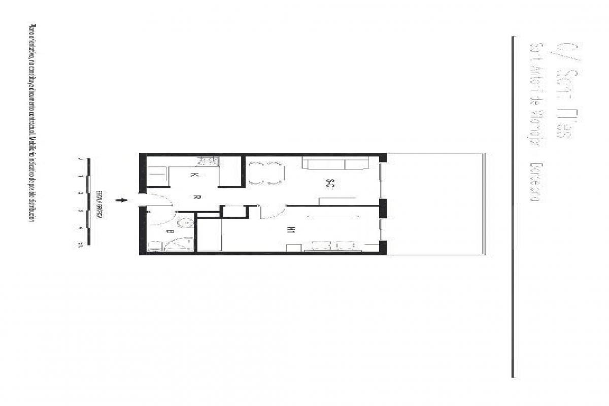 Piso en venta en Sant Antoni de Vilamajor, Barcelona, Calle Sant Elies, 109.000 €, 1 habitación, 1 baño, 50 m2