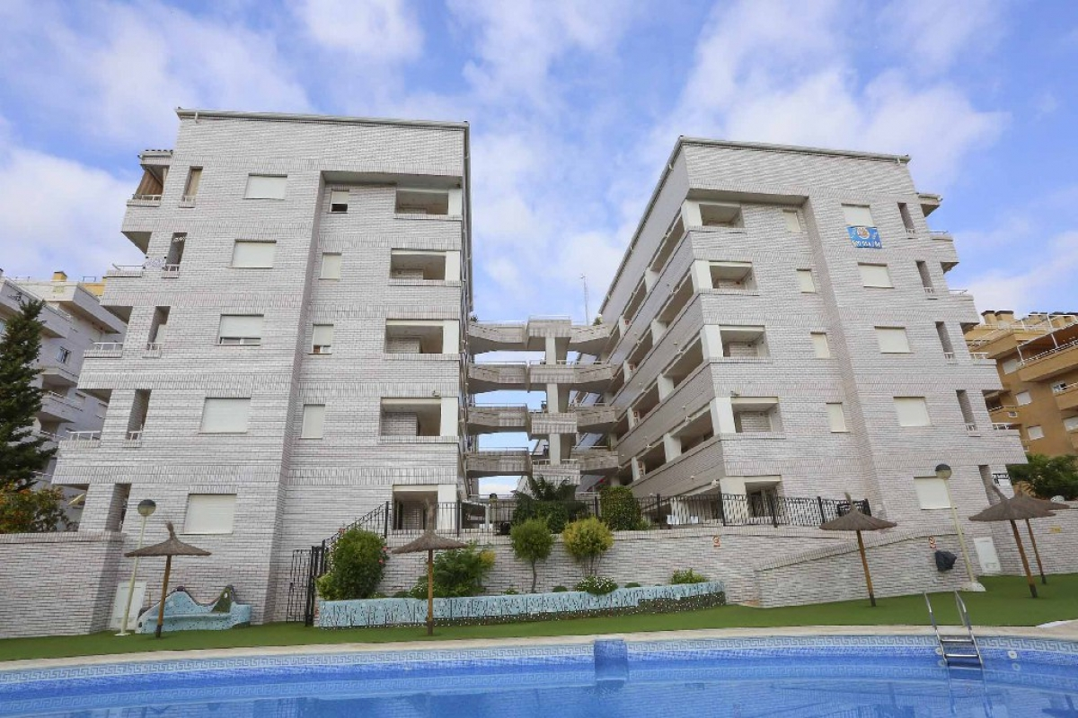 Piso en venta en Oropesa del Mar/orpesa, Castellón, Avenida Central, 82.500 €, 2 habitaciones, 1 baño, 68 m2