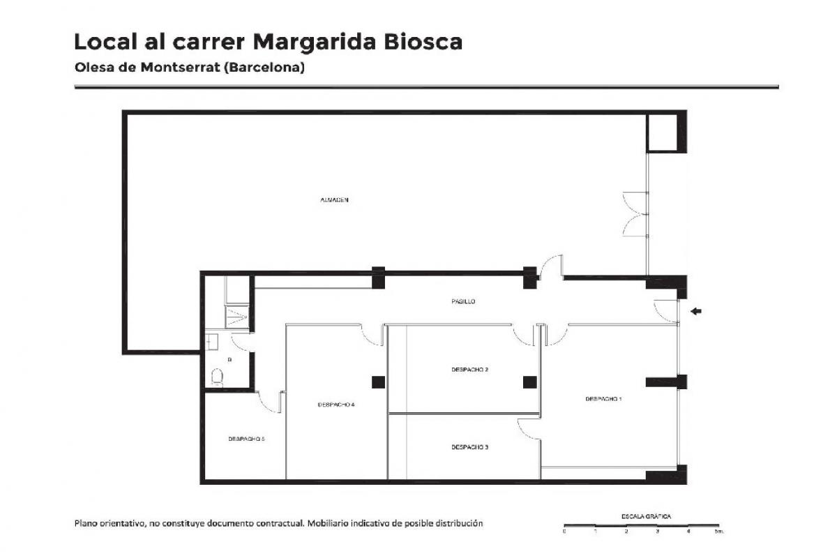 Local en venta en Olesa de Montserrat, Barcelona, Calle Joan Coca I Grau, 76.000 €, 218 m2