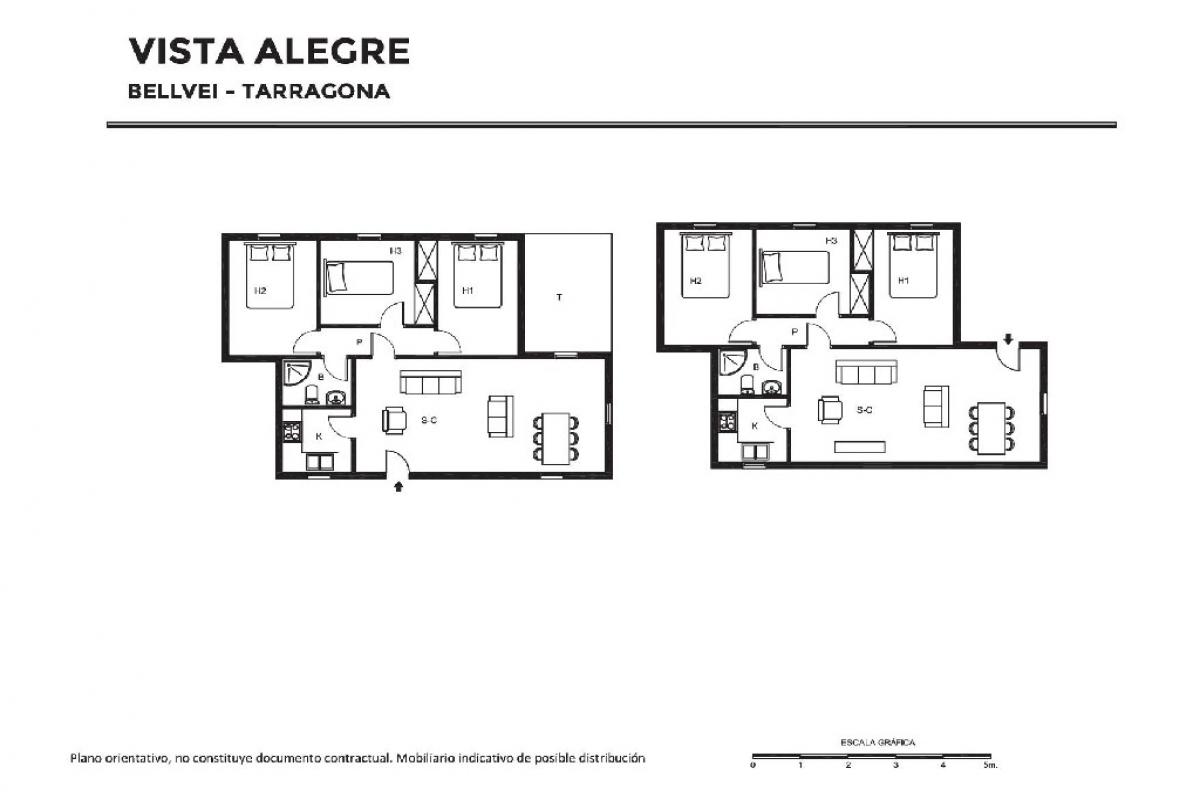 Casa en venta en Bellvei, Tarragona, Calle Vista Alegre, 169.500 €, 6 habitaciones, 2 baños, 230 m2