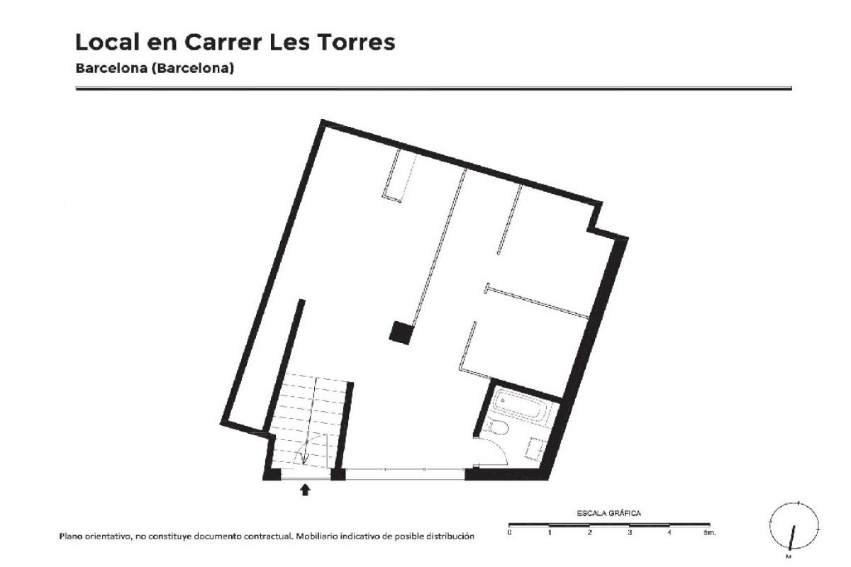 Local en venta en Barcelona, Barcelona, Calle la Torres, 45.000 €, 82 m2