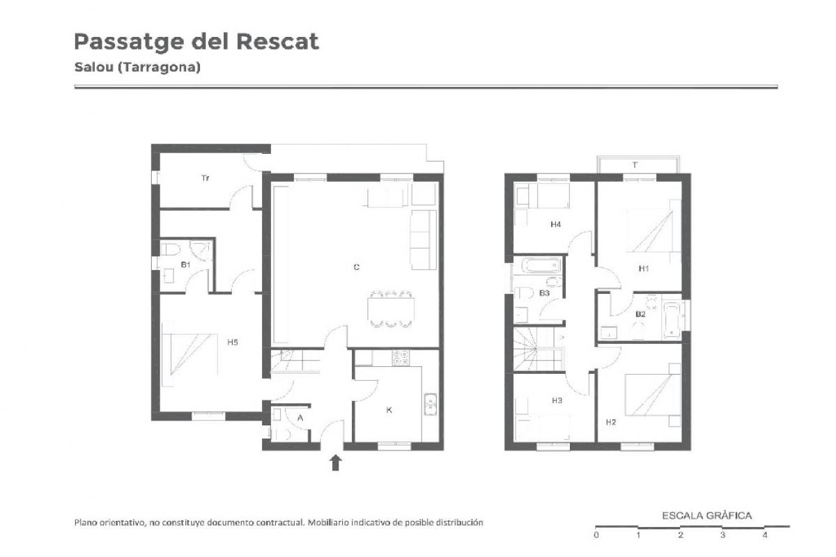 Casa en venta en Salou, Tarragona, Calle Paseo Rescat, 247.500 €, 4 habitaciones, 3 baños, 142 m2