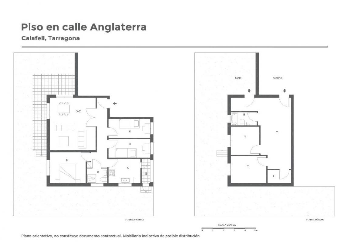 Piso en venta en Calafell, Tarragona, Avenida Anglaterra, 116.500 €, 3 habitaciones, 1 baño, 77 m2