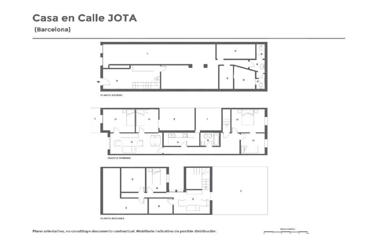 Casa en venta en Barcelona, Barcelona, Calle Jota, 446.500 €, 5 habitaciones, 4 baños, 216 m2