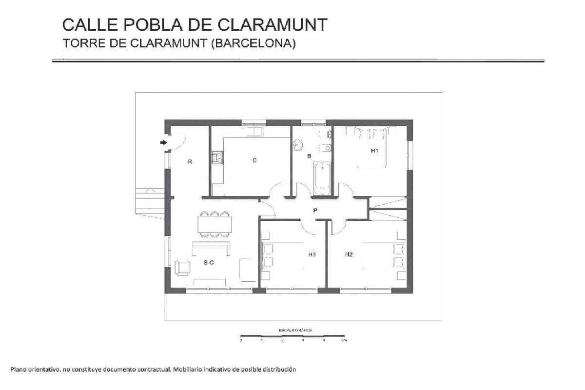 Casa en venta en La Torre de Claramunt, Barcelona, Calle la Pobla de Claramunt, 191.000 €, 3 habitaciones, 1 baño, 169 m2