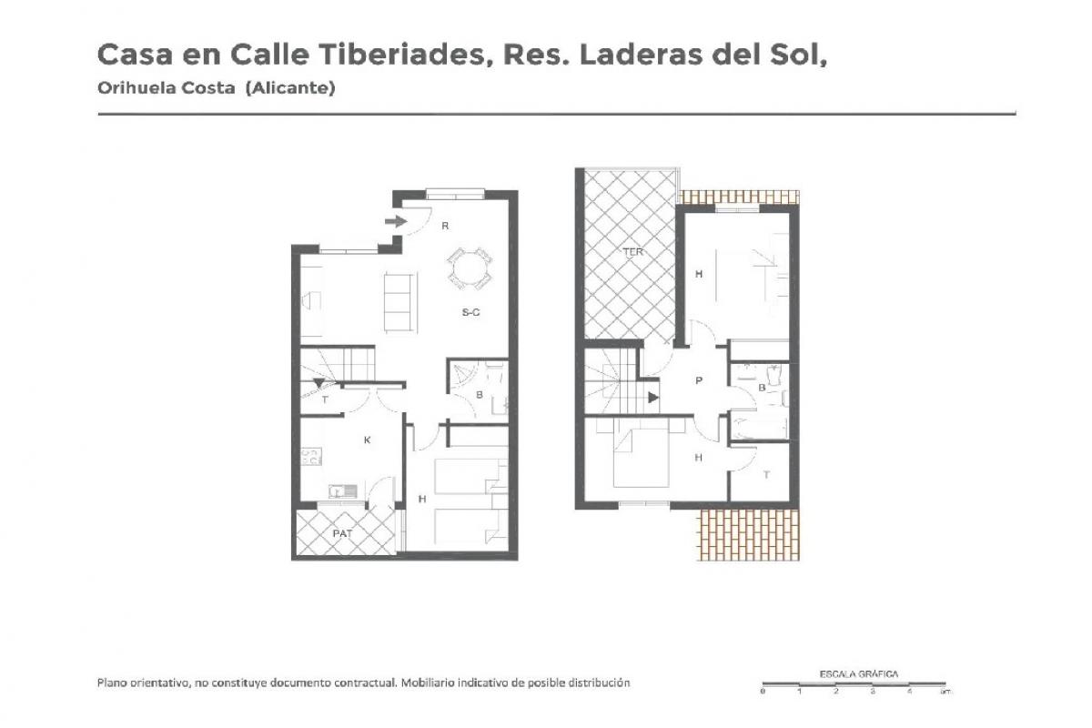 Casa en venta en Orihuela Costa, Orihuela, Alicante, Plaza F-2 Entre Lago Sol Y Chis, Rs Laderas del Sol Fas, 115.000 €, 3 habitaciones, 2 baños, 96 m2