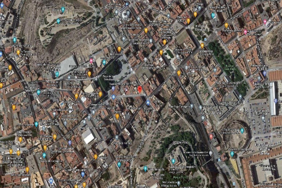 Local en venta en Diputación de Cartagena Casco, Cartagena, Murcia, Calle San Francisco, 158.500 €, 143 m2