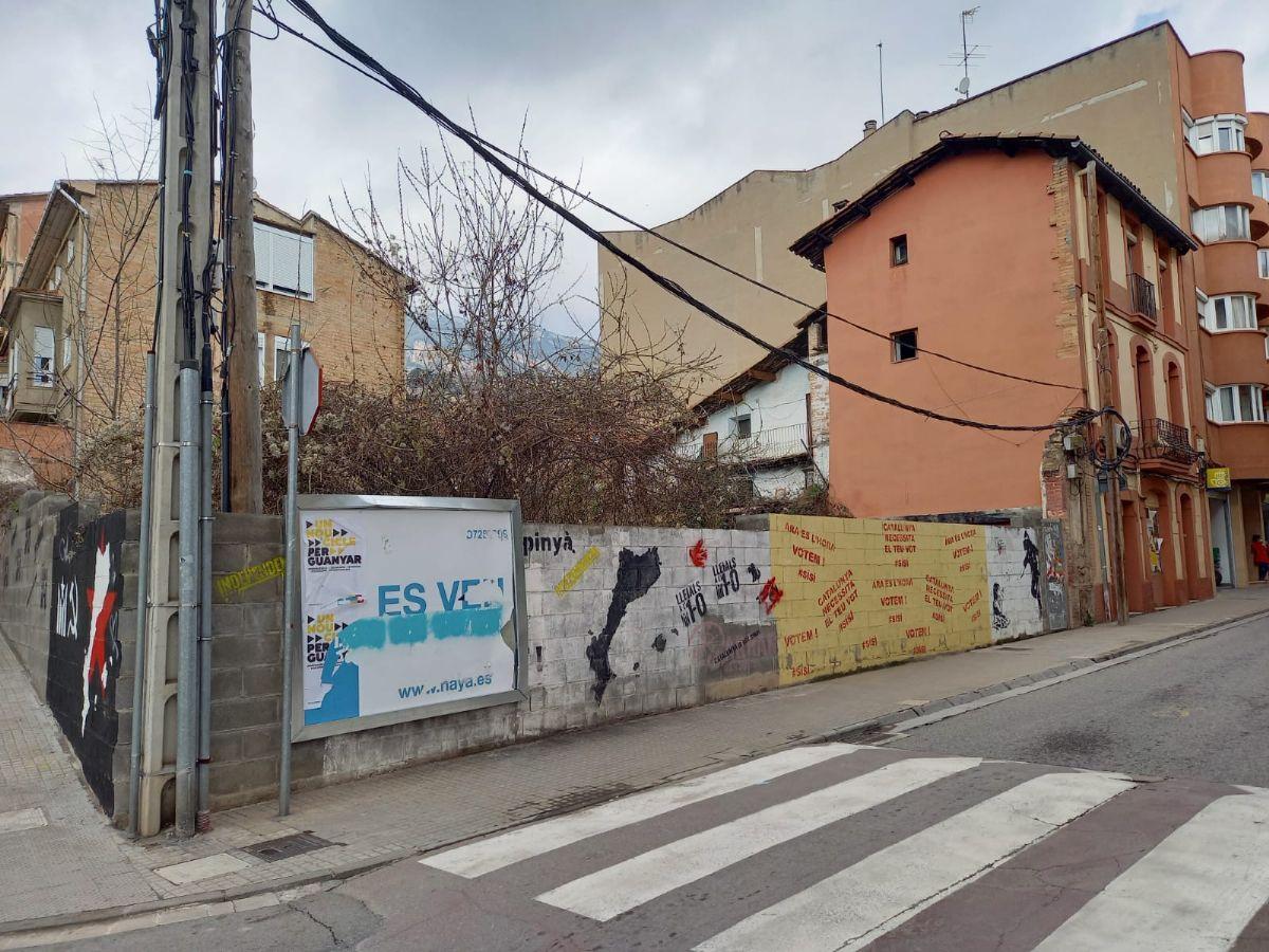 Suelo en venta en Berga, Barcelona, Calle Roser, 187.900 €, 356 m2