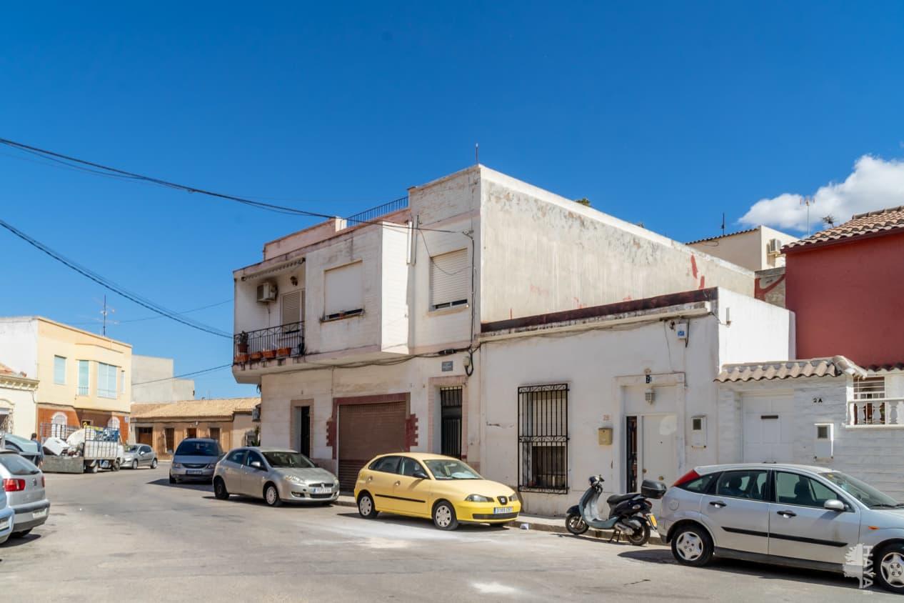 Piso en venta en Pedanía de los Dolores, Cartagena, Murcia, Plaza San Fulgencio, 34.200 €, 3 habitaciones, 1 baño, 83 m2
