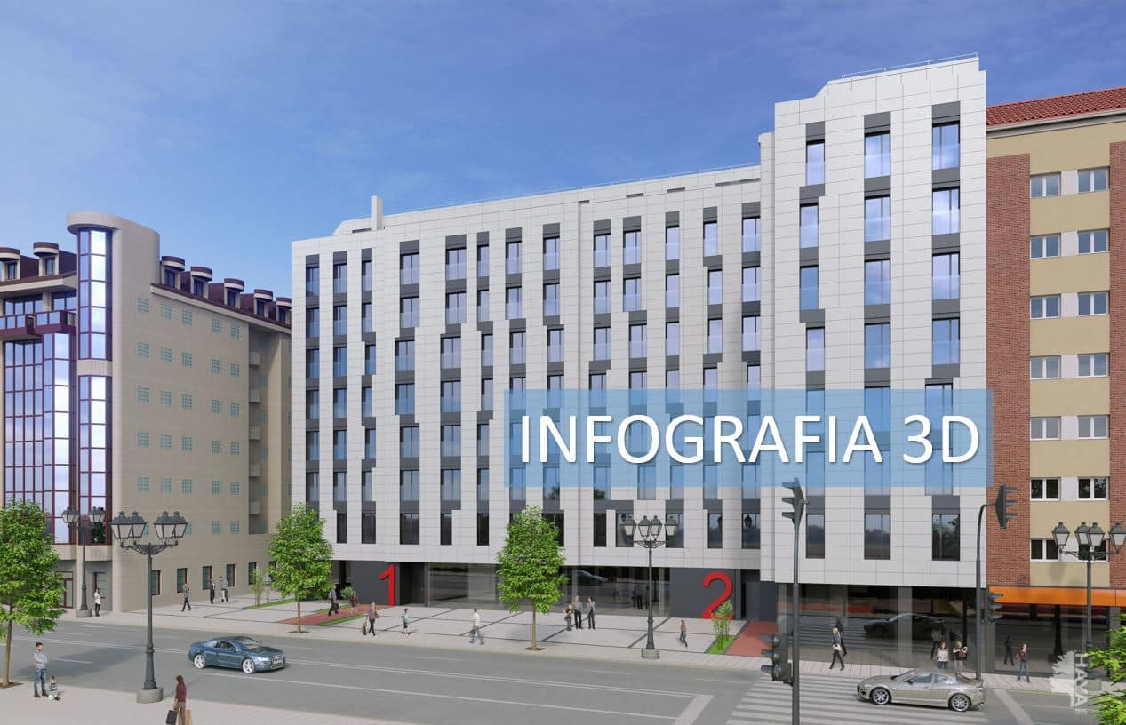Piso en venta en Oviedo, Asturias, Calle General Elorza, 212.695 €, 3 habitaciones, 2 baños, 113 m2