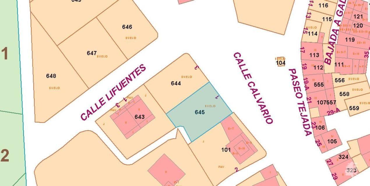 Suelo en venta en Cáseda, Cáseda, Navarra, Calle Calvario, 13.000 €, 351 m2