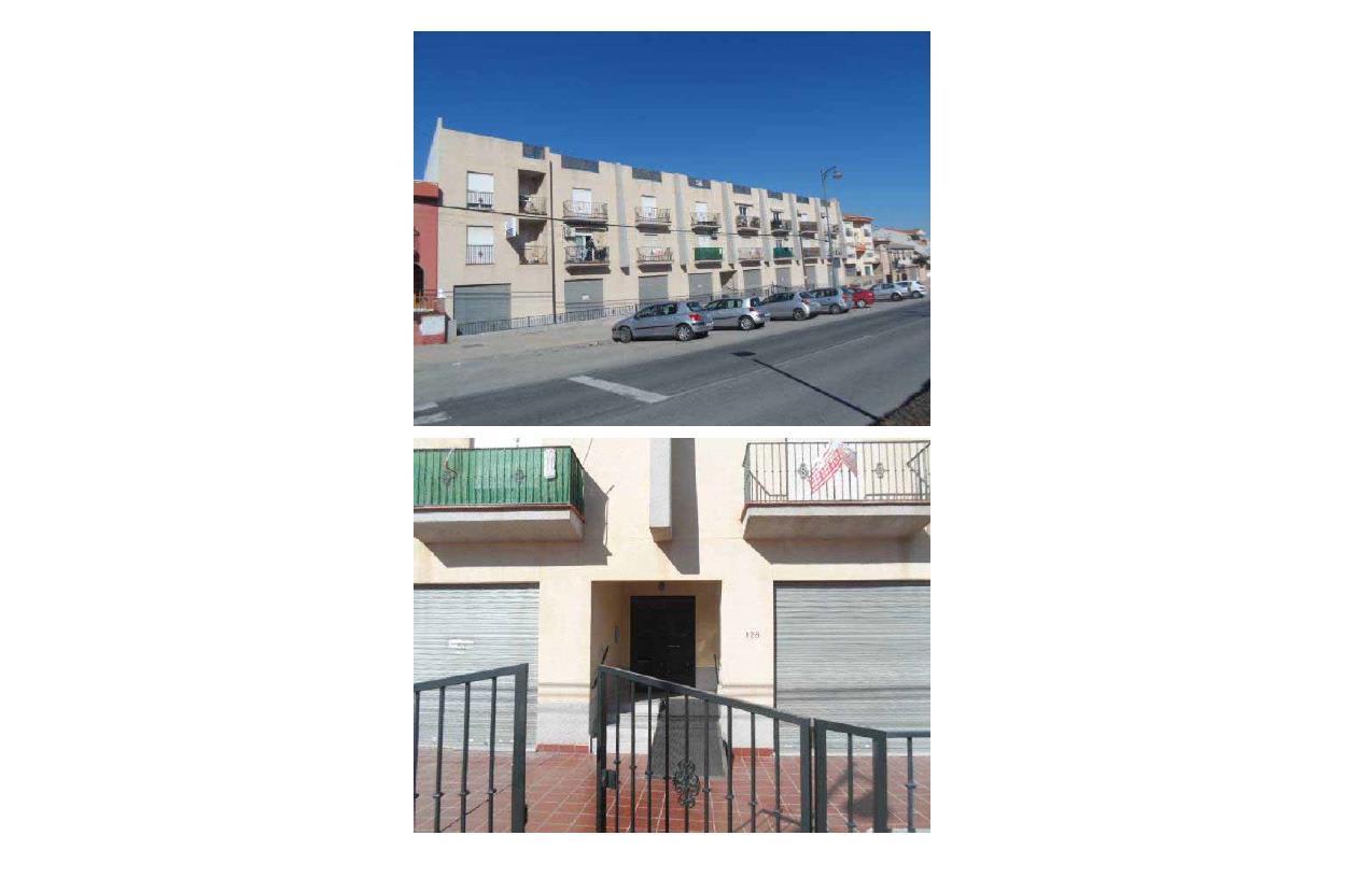 Piso en venta en Urbanización  Cuesta de los Chinos, la Gabias, Granada, Calle Real de Malaga, 55.500 €, 2 habitaciones, 1 baño, 71 m2