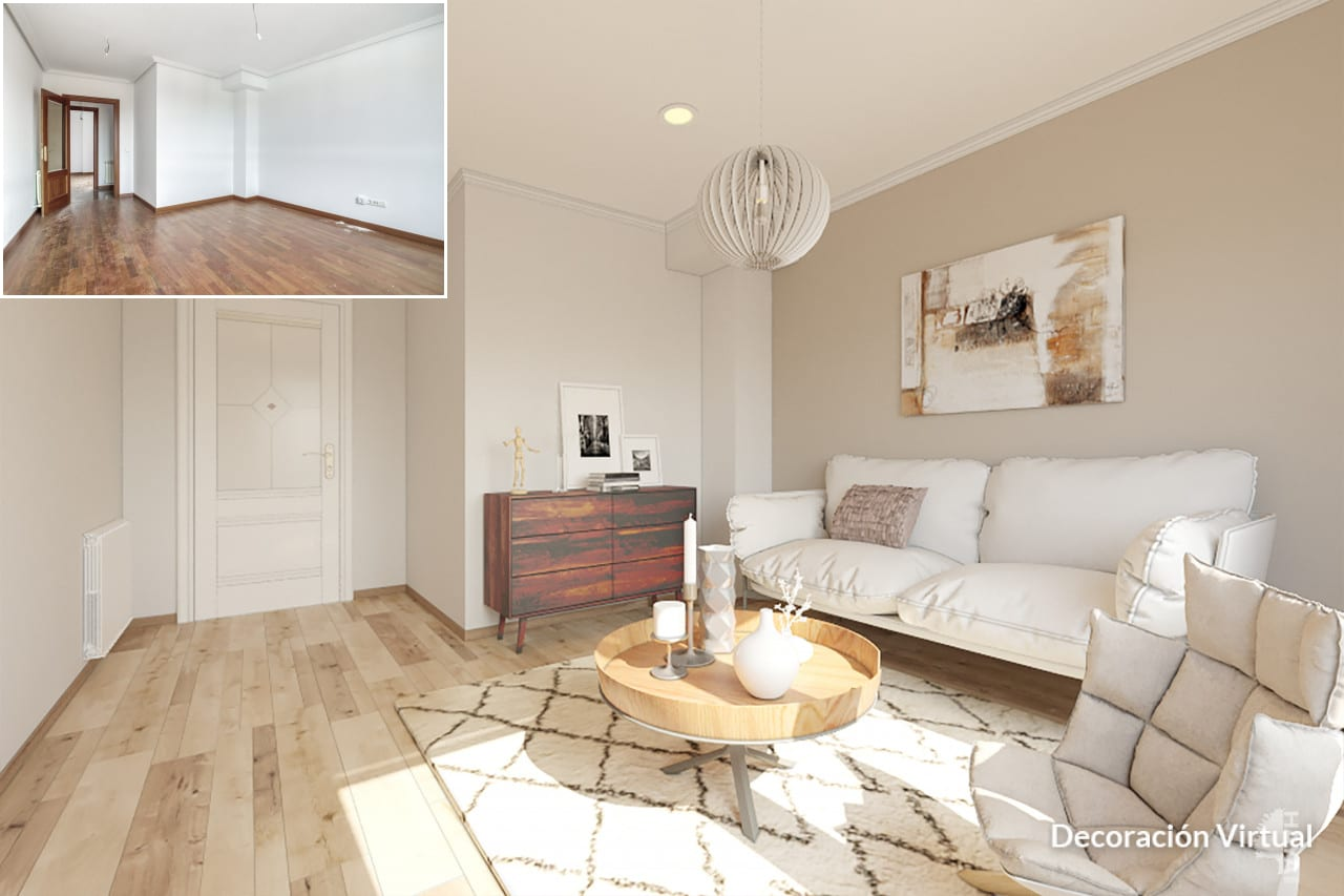 Piso en venta en Villabalter, San Andrés del Rabanedo, León, Calle Mariposa, 110.460 €, 3 habitaciones, 2 baños, 128 m2