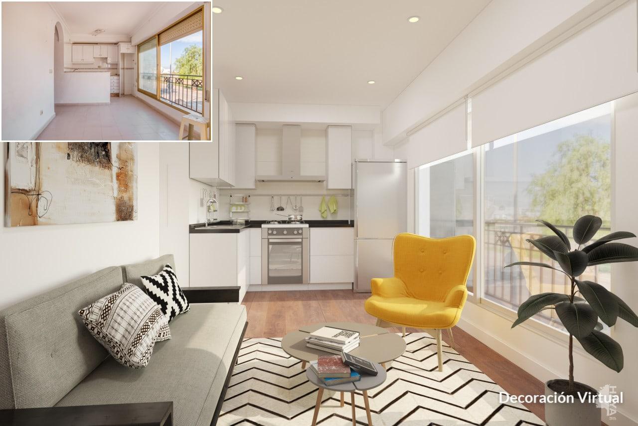 Piso en venta en Santa Pola, Santa Pola, Alicante, Calle Elda, 84.000 €, 2 habitaciones, 1 baño, 57 m2