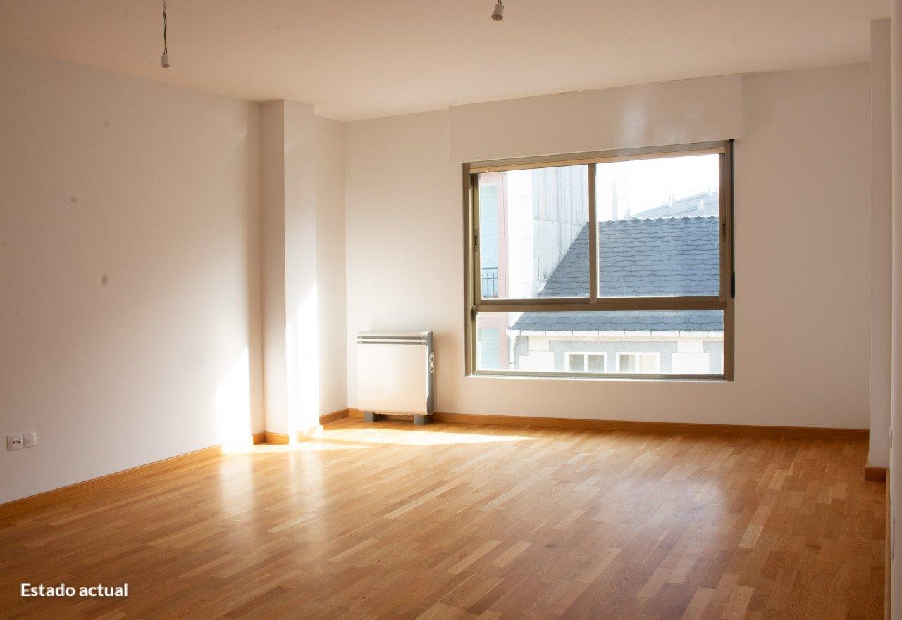 Piso en venta en Casa de Arriba, Sarria, Lugo, Calle Rua Nova, Esq. Rua Pedro Saco, 73.000 €, 3 habitaciones, 2 baños, 117 m2
