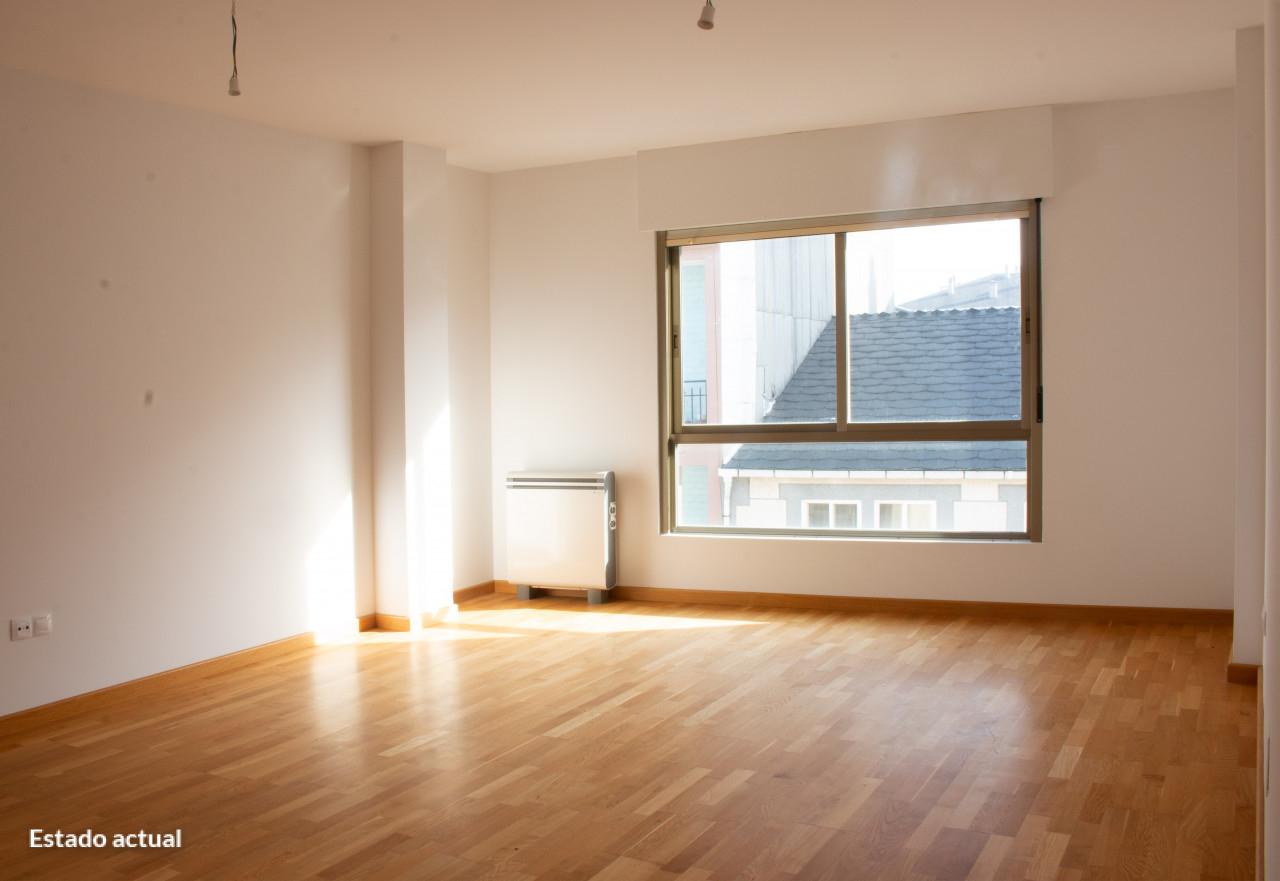Piso en venta en Casa de Arriba, Sarria, Lugo, Calle Rua Nova, Esq. Rua Pedro Saco, 74.000 €, 2 habitaciones, 2 baños, 117 m2