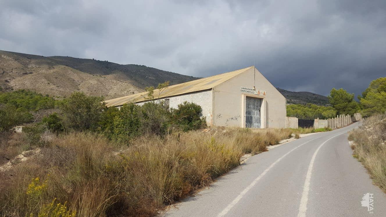 Industrial en venta en La Villajoyosa/vila, Alicante, Calle Partida Robelles, 221.322 €, 1099 m2