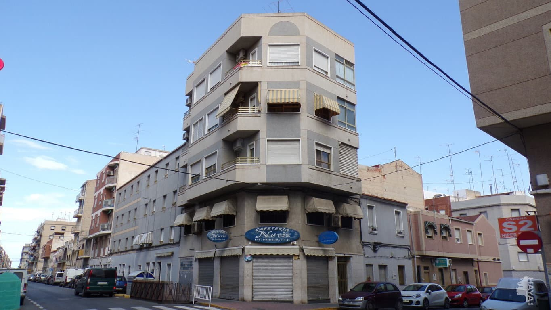 Piso en venta en Elche/elx, Alicante, Calle Hermanos Navarro Caracena, 73.005 €, 3 habitaciones, 2 baños, 95 m2