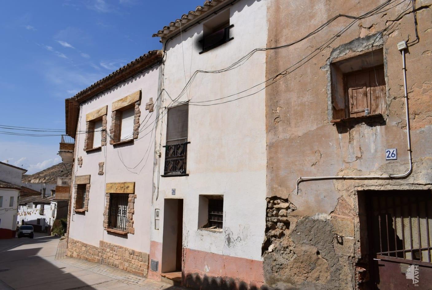 Casa en venta en Ontiñena, Ontiñena, Huesca, Calle Castillo, 17.900 €, 2 habitaciones, 1 baño, 177 m2