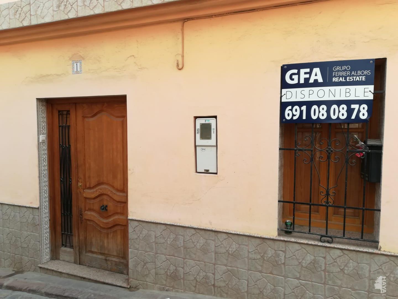 Casa en venta en Sagunto/sagunt, Valencia, Calle Lliria, 74.900 €, 2 habitaciones, 1 baño, 70 m2