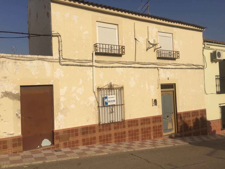 Casa en venta en Fuerte del Rey, Fuerte del Rey, Jaén, Calle Cordoba, 47.609 €, 4 habitaciones, 1 baño, 135 m2