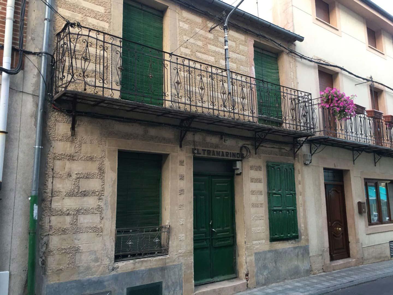 Casa en venta en Cantalejo, Segovia, Calle Frontón, 60.000 €, 5 habitaciones, 1 baño, 411 m2
