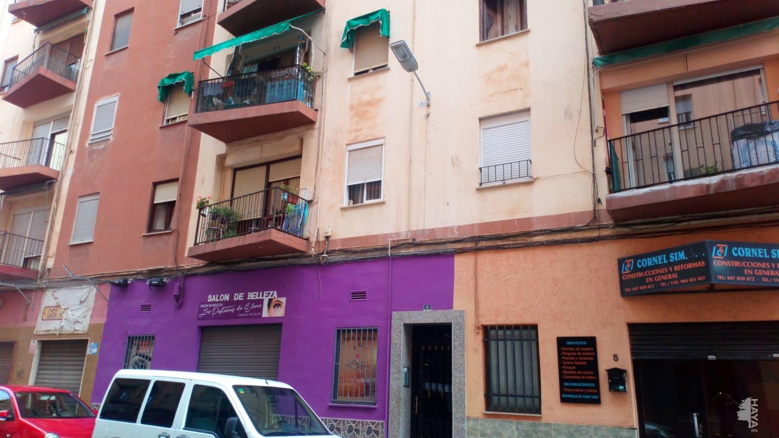 Piso en venta en Grupo San Pedro, Castellón de la Plana/castelló de la Plana, Castellón, Calle la Llosa, 41.353 €, 2 habitaciones, 1 baño, 60 m2