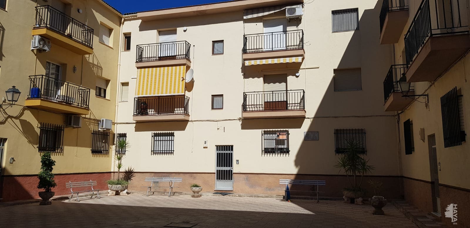 Piso en venta en Sierra de Yeguas, Málaga, Plaza Juan Carlos I, 29.790 €, 3 habitaciones, 1 baño, 87 m2