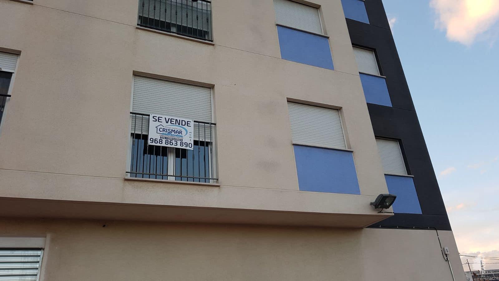 Piso en venta en Murcia, Murcia, Calle Cervantes,, 110.122 €, 3 habitaciones, 1 baño, 108 m2