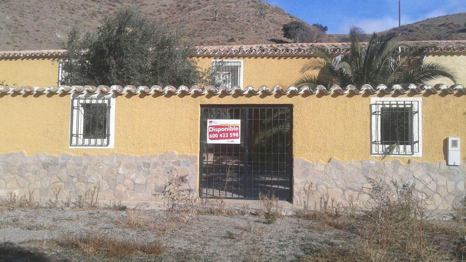 Casa en venta en Vélez-rubio, Vélez-rubio, Almería, Calle los Cabreras, Sn, 241.000 €, 3 habitaciones, 1 baño, 464 m2