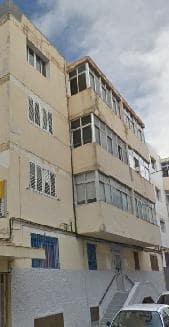Piso en venta en Las Palmas de Gran Canaria, Las Palmas, Calle Francisco Inglot Artiles, 40.533 €, 3 habitaciones, 1 baño, 72 m2