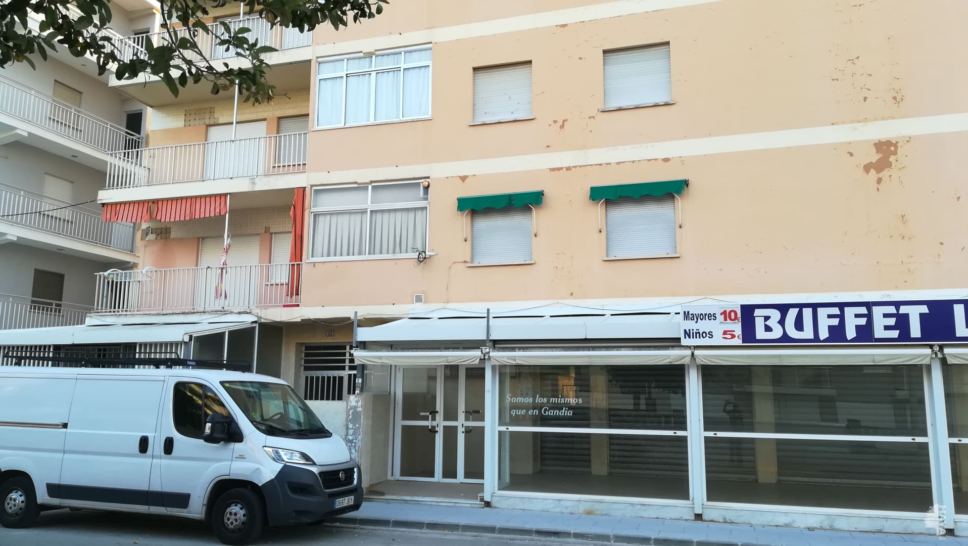 Piso en venta en Gandia, Valencia, Paseo Joan Miro, 91.843 €, 2 habitaciones, 1 baño, 82 m2