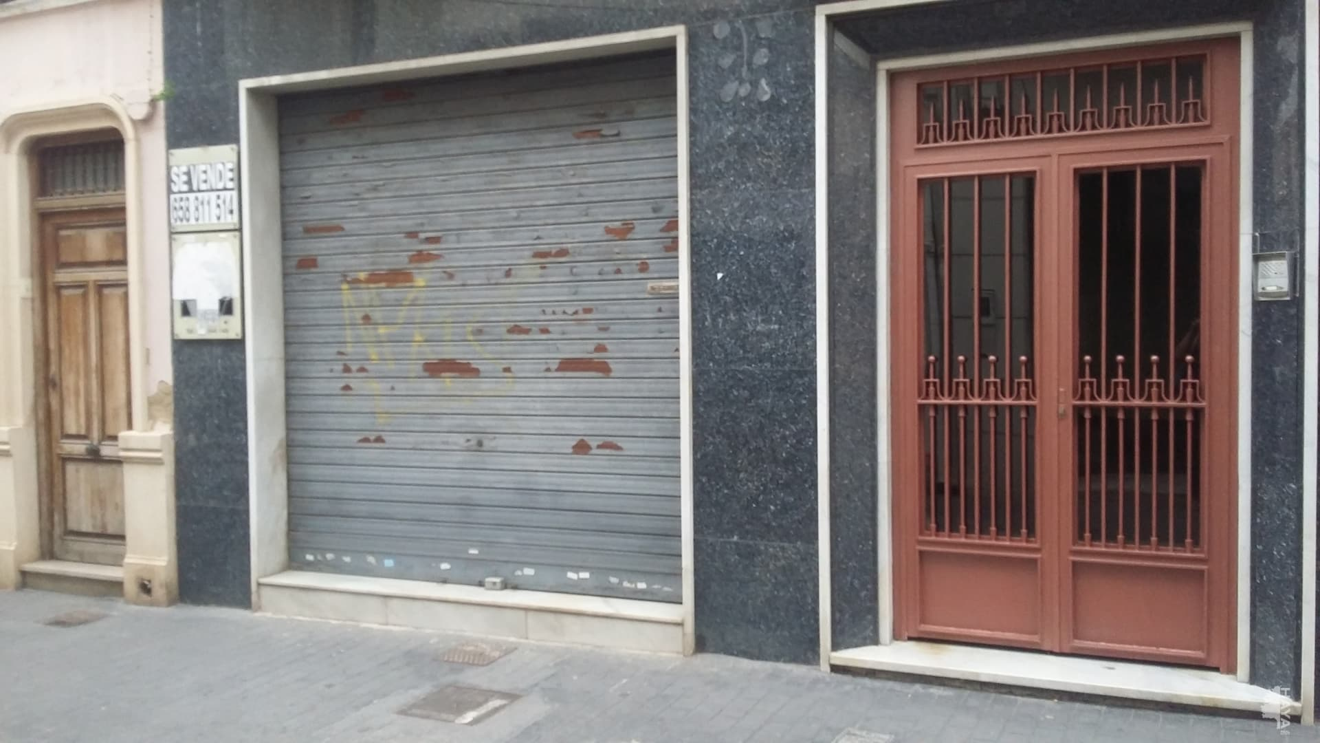 Local en venta en Manises, Valencia, Calle Major, 89.894 €, 109 m2