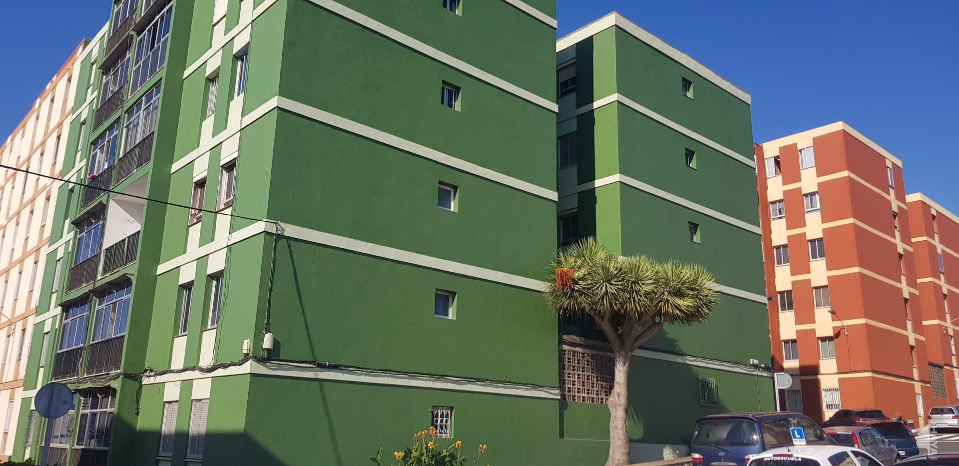 Piso en venta en Guajara, San Cristobal de la Laguna, Santa Cruz de Tenerife, Urbanización Chumberas, 46.620 €, 3 habitaciones, 1 baño, 87 m2