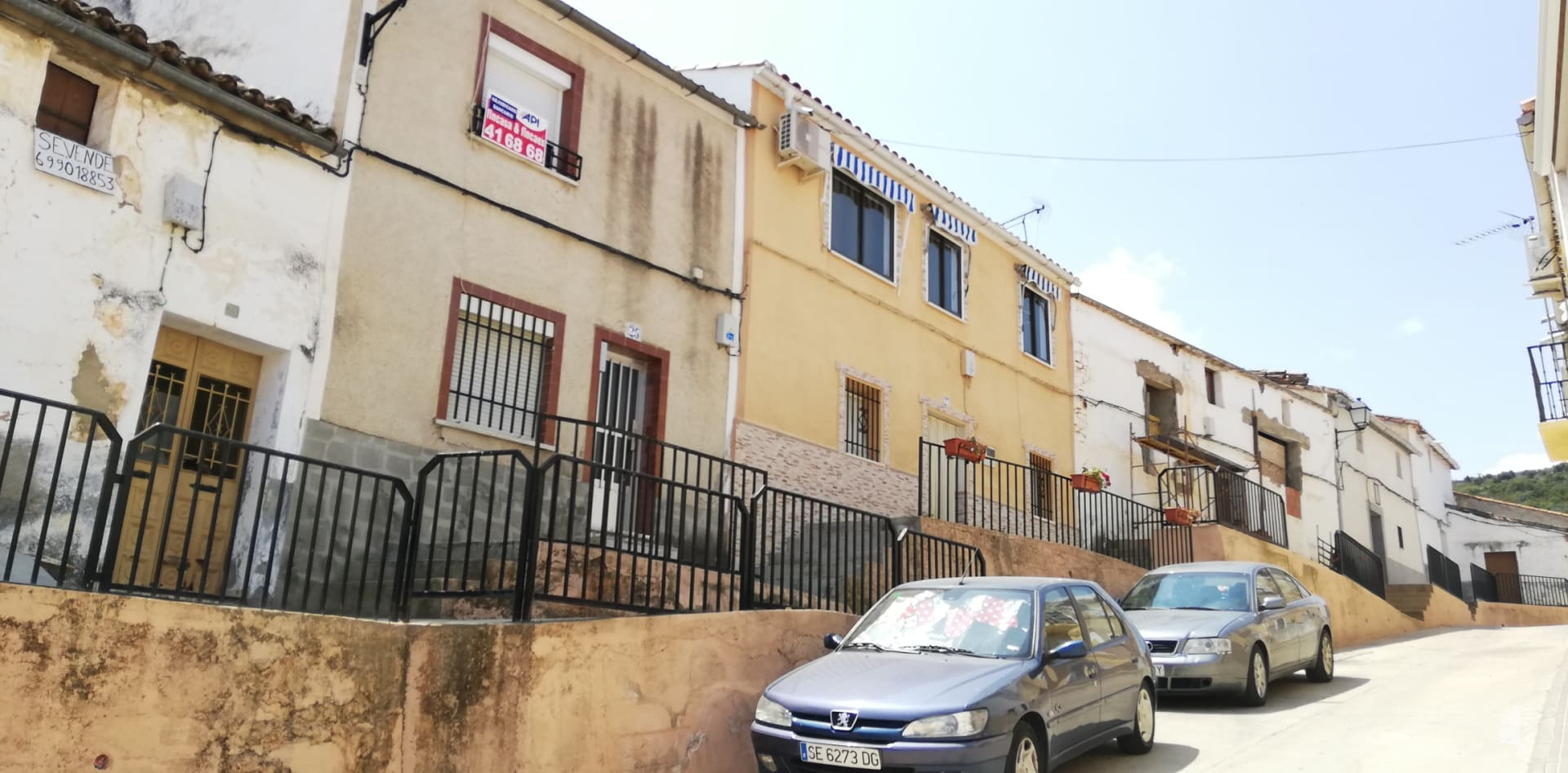 Casa en venta en Aliseda, Aliseda, Cáceres, Calle Puerto, 37.084 €, 2 habitaciones, 1 baño, 103 m2