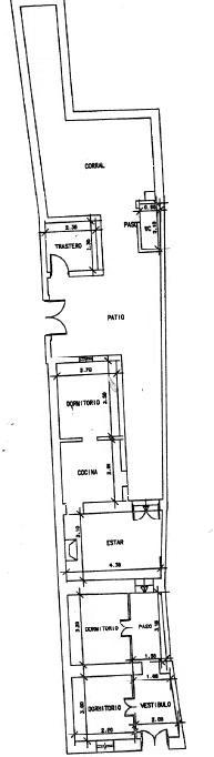 Casa en venta en Casa en Villanueva de los Castillejos, Huelva, 24.900 €, 3 habitaciones, 1 baño, 87,13 m2