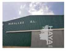 Industrial en venta en Mas de Sastre, Camarles, Tarragona, Calle Poligono Industrial Venta Nova, 185.669 €, 629 m2