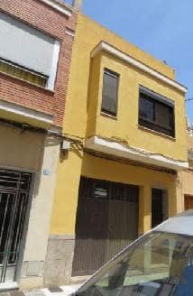 Casa en venta en Poblados Marítimos, Burriana, Castellón, Calle Blasco Ibáñez, 81.800 €, 3 habitaciones, 1 baño, 168 m2