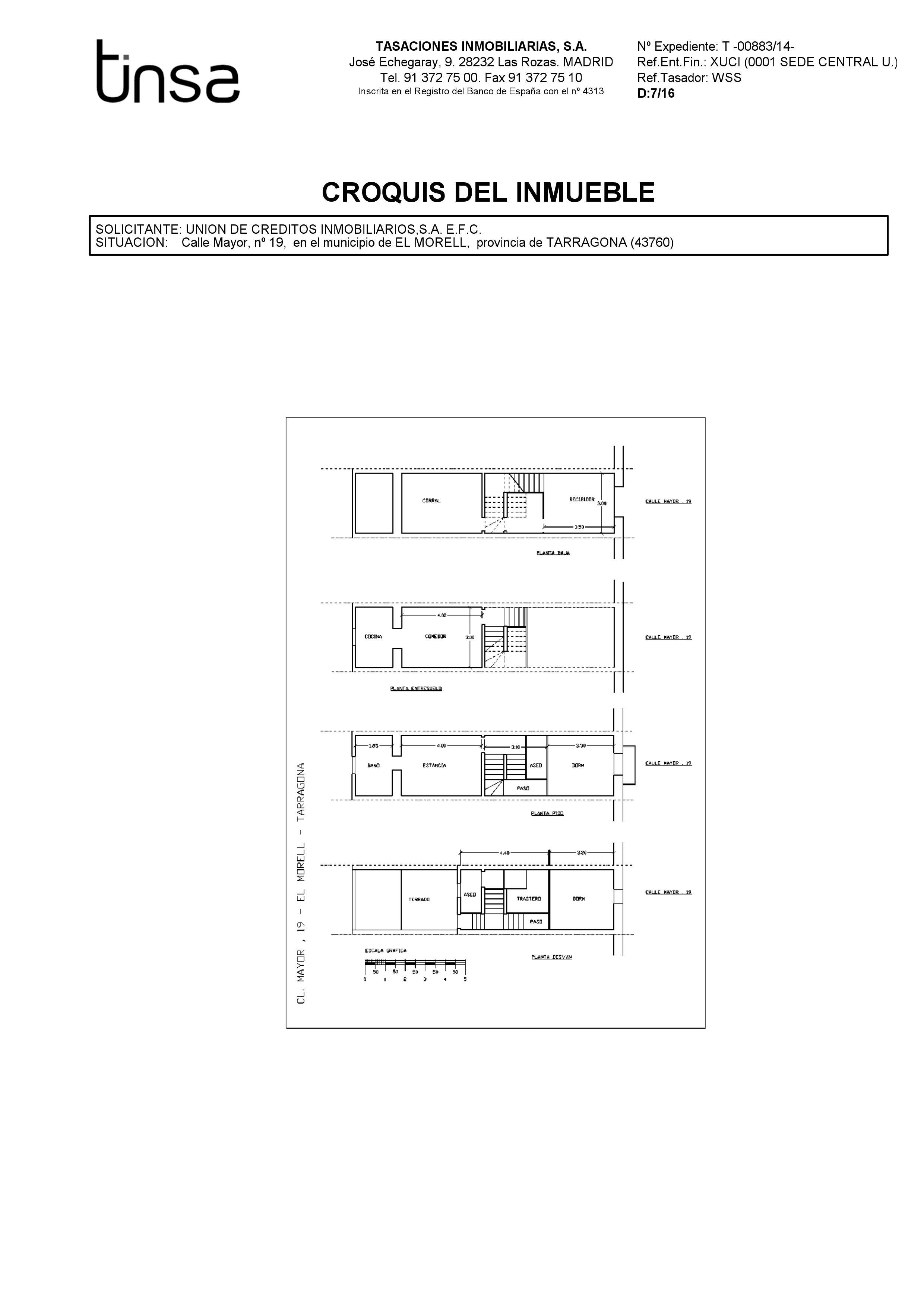 Casa en venta en Casa en El Morell, Tarragona, 12.000 €, 6 habitaciones, 3 baños, 107 m2