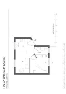 Piso en venta en Barrio Das Cascas, Betanzos, A Coruña, Avenida Castilla, 60.100 €, 1 habitación, 1 baño, 44 m2