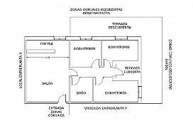 Piso en venta en Piso en Torremolinos, Málaga, 143.000 €, 3 habitaciones, 1 baño, 86 m2