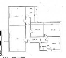 Piso en venta en Piso en Mengíbar, Jaén, 21.800 €, 3 habitaciones, 1 baño, 93,82 m2