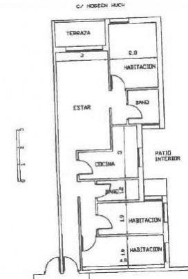 Piso en venta en Piso en Berga, Barcelona, 55.000 €, 3 habitaciones, 105 m2