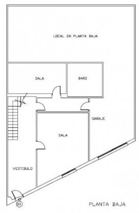 Casa en venta en Villarrobledo, Albacete, Calle Clavel, 143.000 €, 5 habitaciones, 384 m2