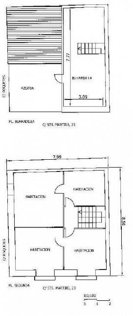 Casa en venta en Casa en Ulldecona, Tarragona, 43.200 €, 4 habitaciones, 1 baño, 236 m2