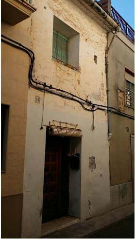 Casa en venta en Alquerieta, Alzira, Valencia, Calle San Bernardo, 34.800 €, 2 habitaciones, 1 baño, 87 m2