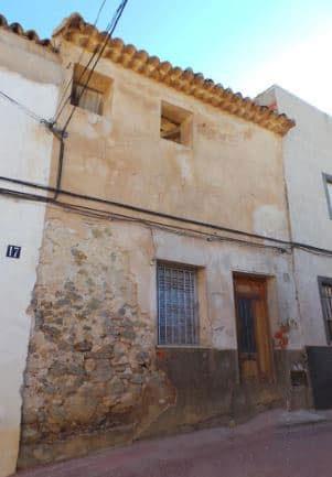 Casa en venta en Monóvar/monòver, Alicante, Calle Aspe, 61.200 €, 1 baño, 105 m2