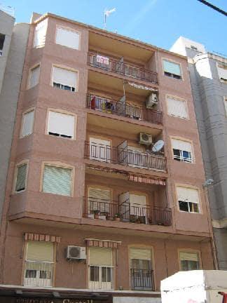 Piso en venta en Carrús Est, Elche/elx, Alicante, Camino Dels Magros, 35.750 €, 3 habitaciones, 1 baño, 100 m2