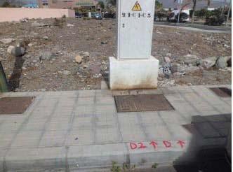 Suelo en venta en Cruce de Arinaga, Santa Lucía de Tirajana, Las Palmas, Calle Acebuche, 54.400 €, 504 m2